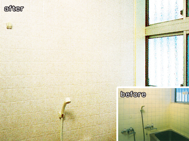 水廻りの天井・床・壁に貼るだけリフォーム